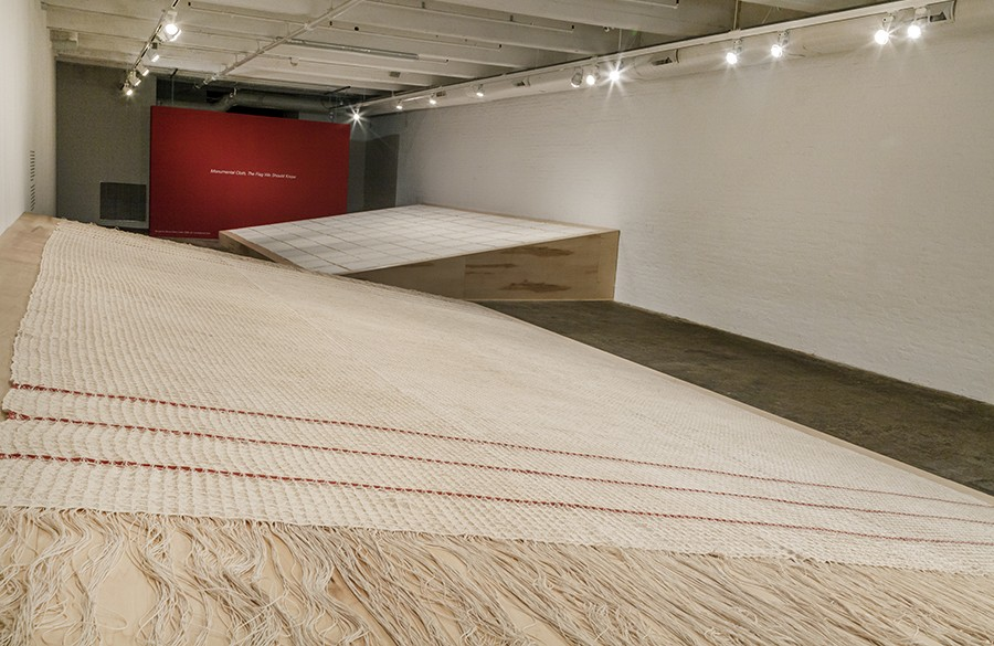 Monumental Cloth, installation