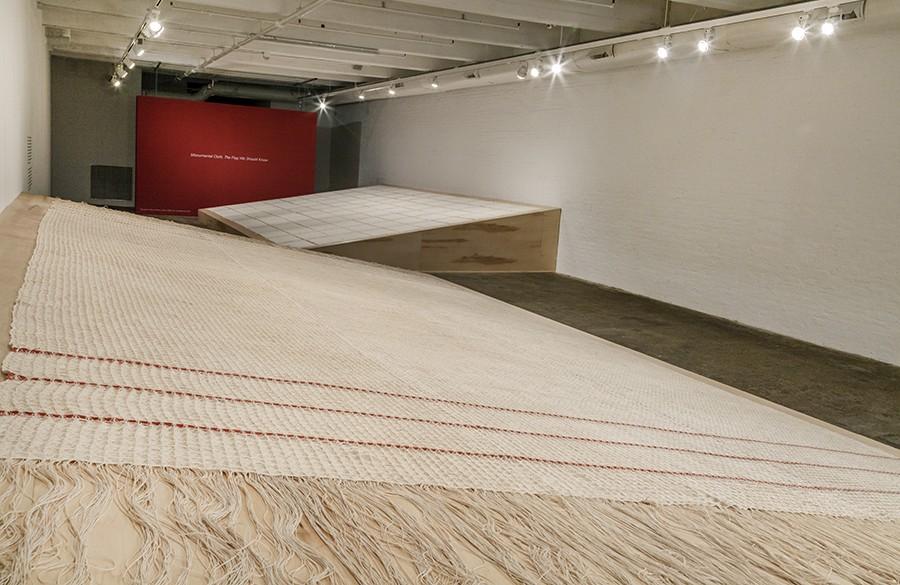 Monumental Cloth, installation